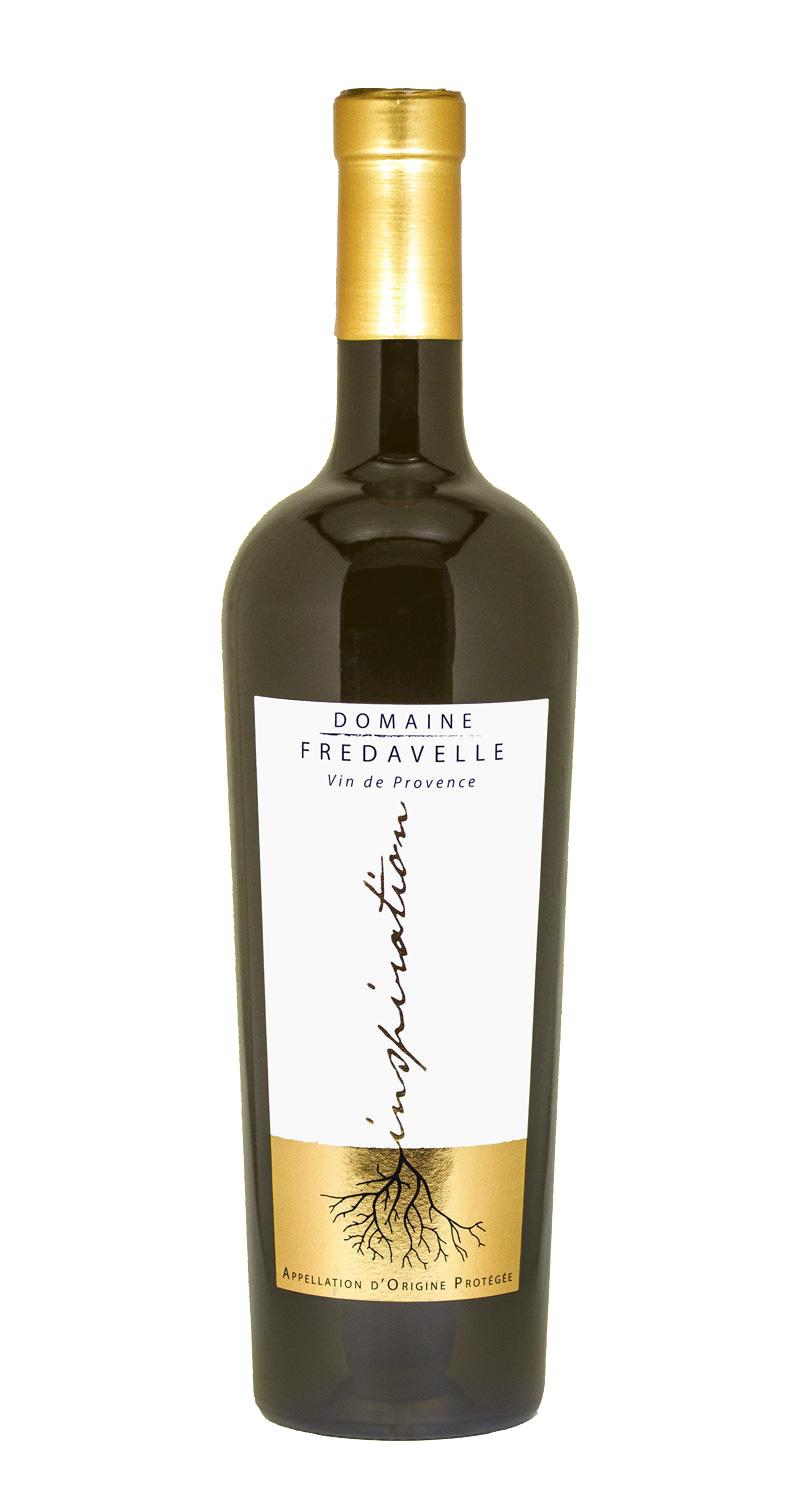 vin blanc cuvee inspiration 2016 élevage barrique domaine fredavelle aop coteaux aix en provence eguilles degustation