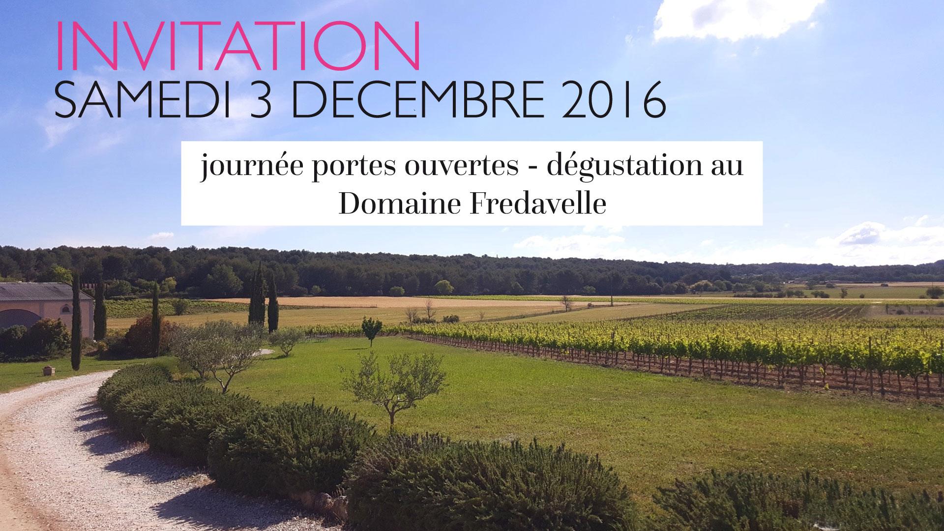 portes ouvertes dégustation vin buffet découverte vignoble provence animations fredavelle oeonotourisme
