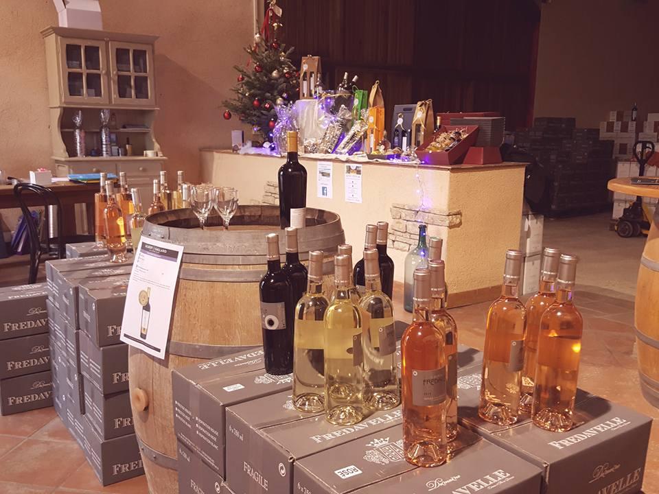 vin boutique vente fredavelle noel fetes cadeaux