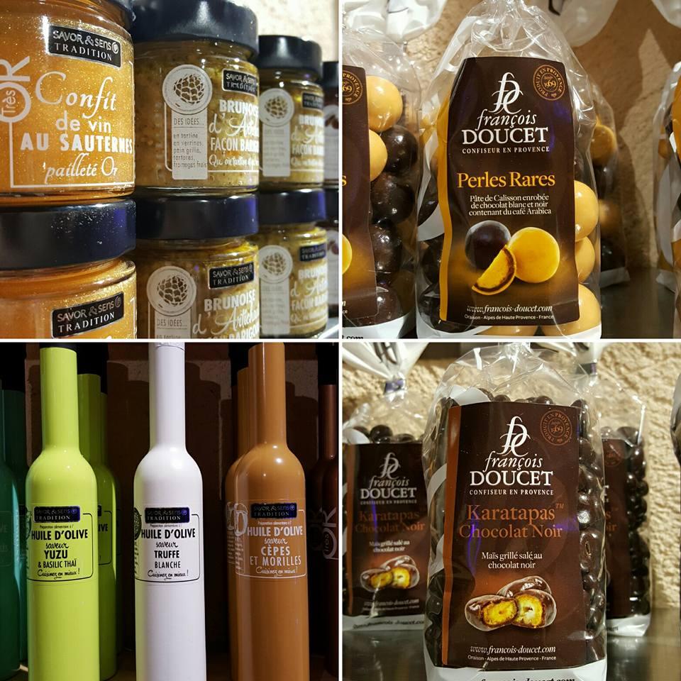 vin boutique vente fredavelle noel fetes idee cadeaux huile d'olive chocolat épicerie fine