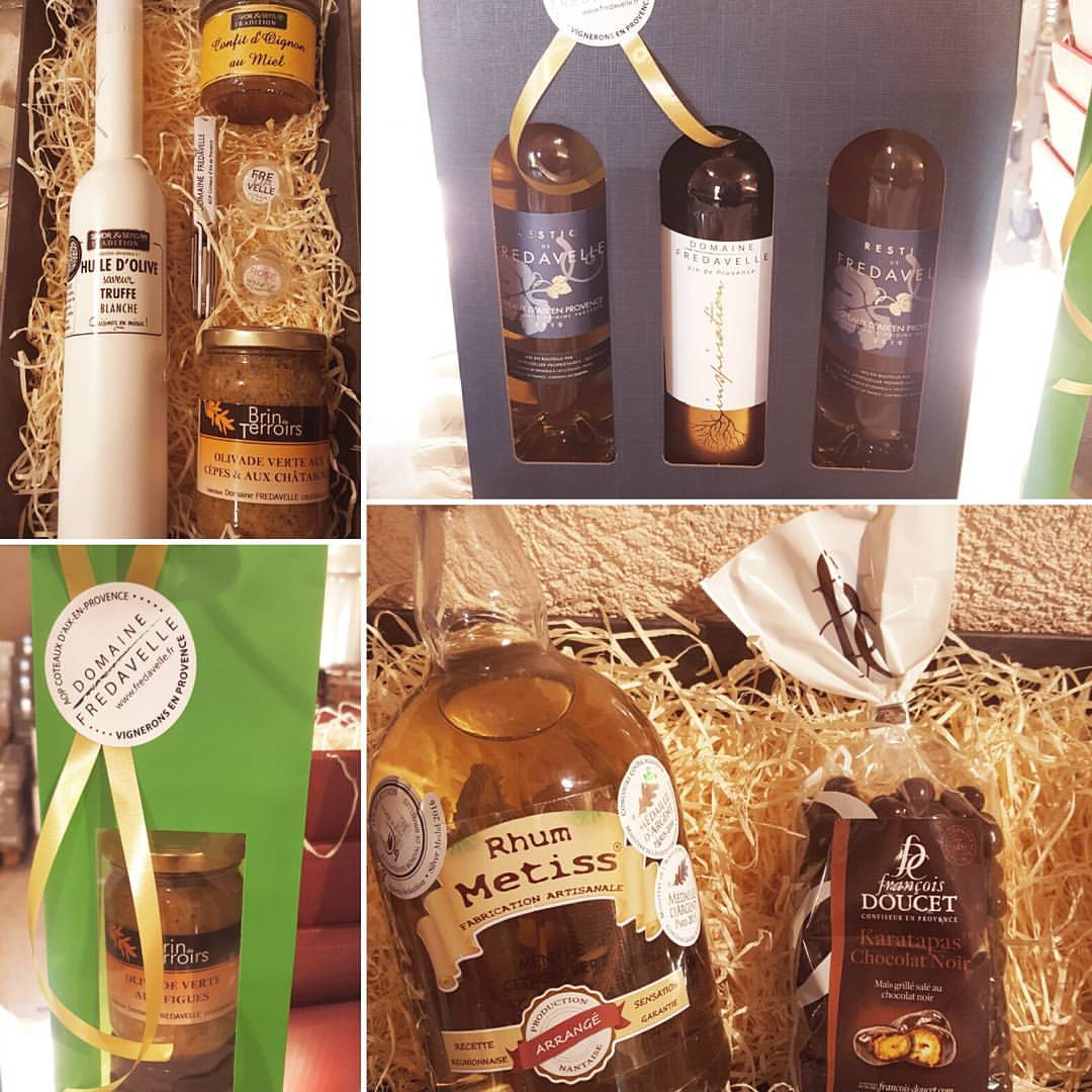 vin boutique vente fredavelle noel fetes idee cadeaux vin rhum composition panier personnalisé
