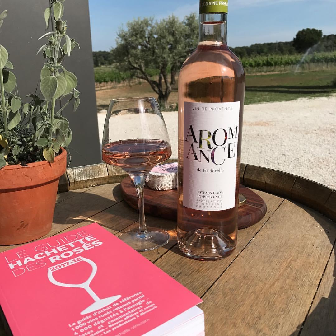 coup de coeur guide hachette des vins rosés dégustation aveugle aromance fredavelle provence