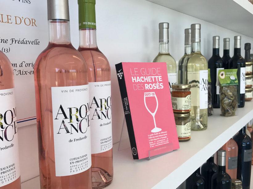 domaine fredavelle vente de vin rosé rouge blanc route des vins de provence aop coteaux d'aix-en-provence vins coup de coeur guide hachette des vins médailles or concours général agricole paris