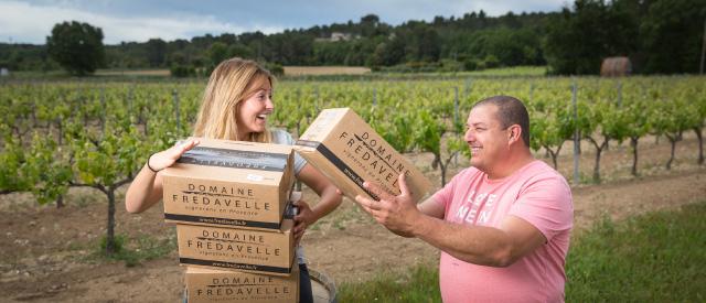 vins domaine fredavelle vins de provence vigneron indépendant route des vins visite cave dégustation oenotoursime aix marseille