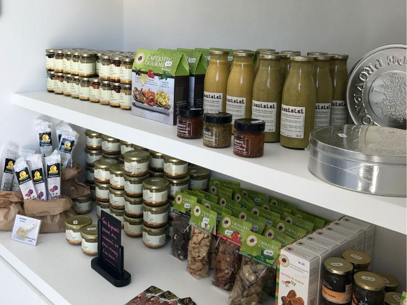 domaine fredavelle espace vente et dégustation produits locaux terrines spécialités provençales route des vins tourisme paca aix marseille