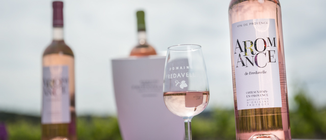 vente vin rose aromance domaine fredavelle coup de coeur guide hachette médaille or concours général agricole paris dégustation dans les vignes route des vins vigneron indépendant