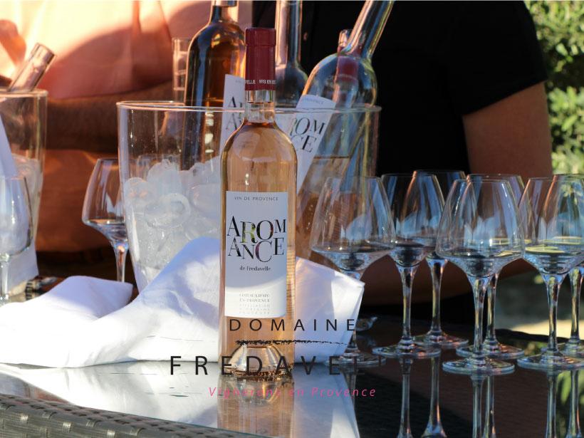 domaine fredavelle dégustation vin rose de provence aromance guide hachette des vins visite tourisme aix-en-provence marseille paca route des vins