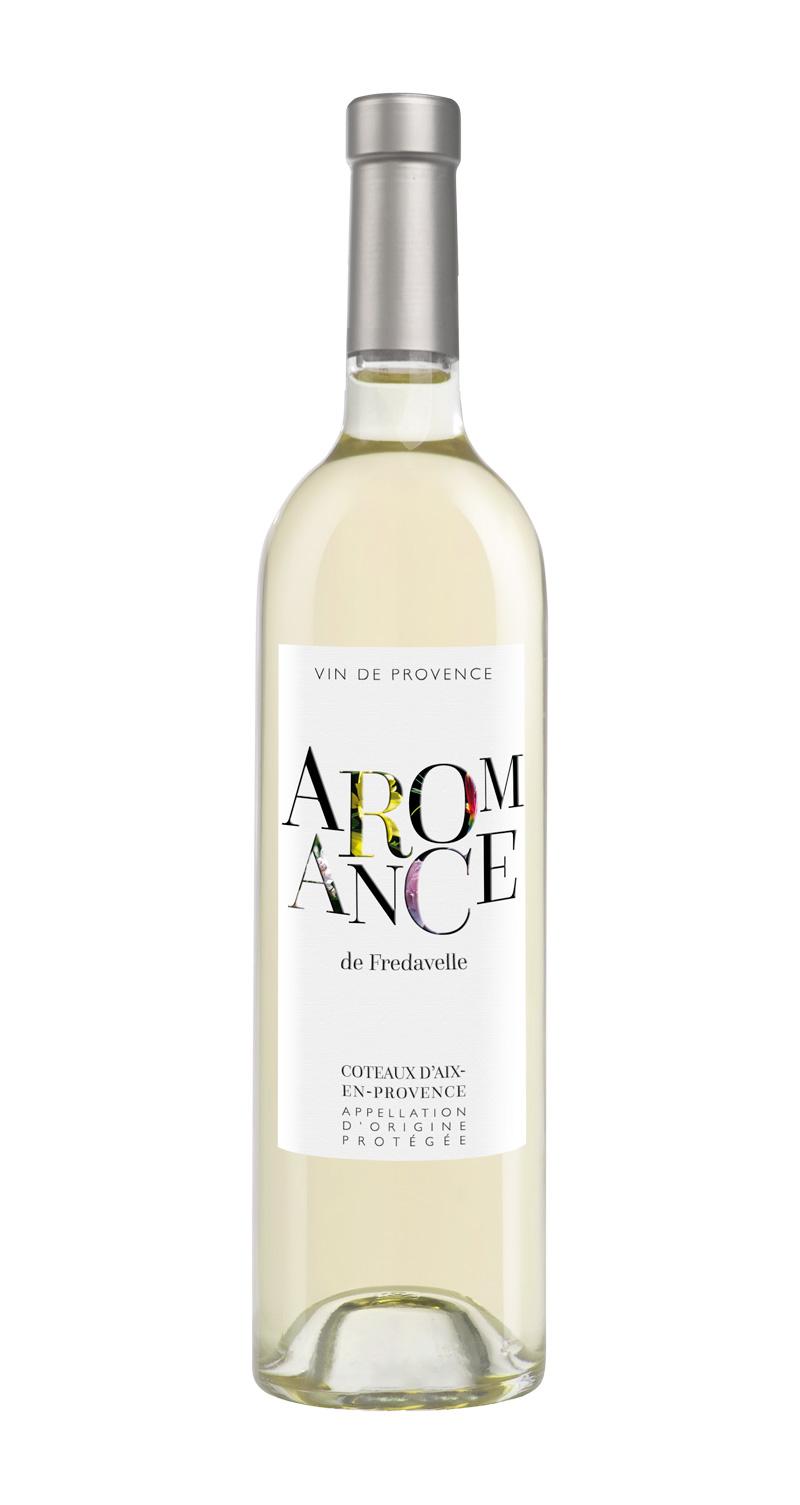domaine fredavelle cuvée Aromance blanc AOP coteaux aix-en-provence vins de provence fiche technique dégustation
