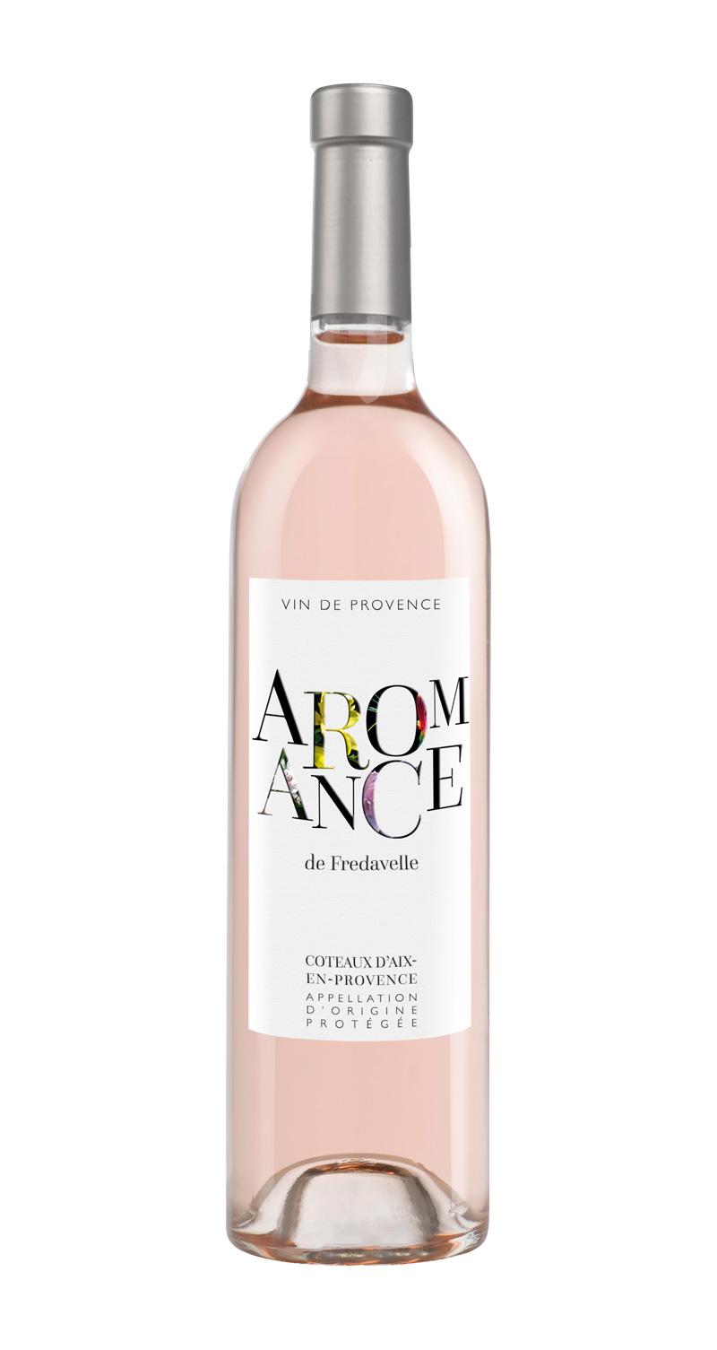 domaine fredavelle cuvée Aromance rosé AOP coteaux aix-en-provence vins de provence fiche technique dégustation