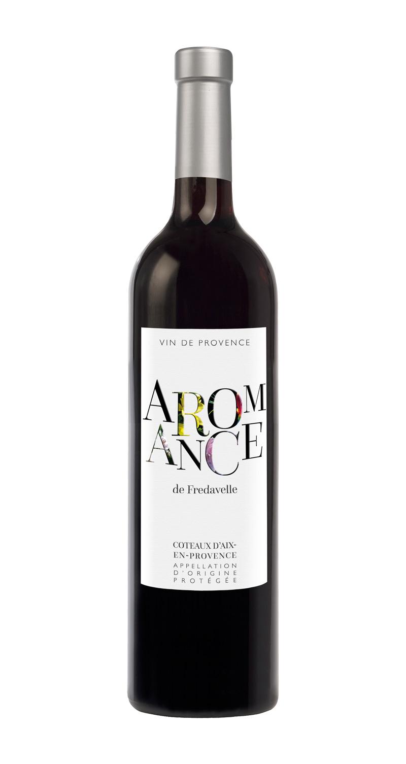 domaine fredavelle cuvée Aromance rouge AOP coteaux aix-en-provence vins de provence fiche technique dégustation