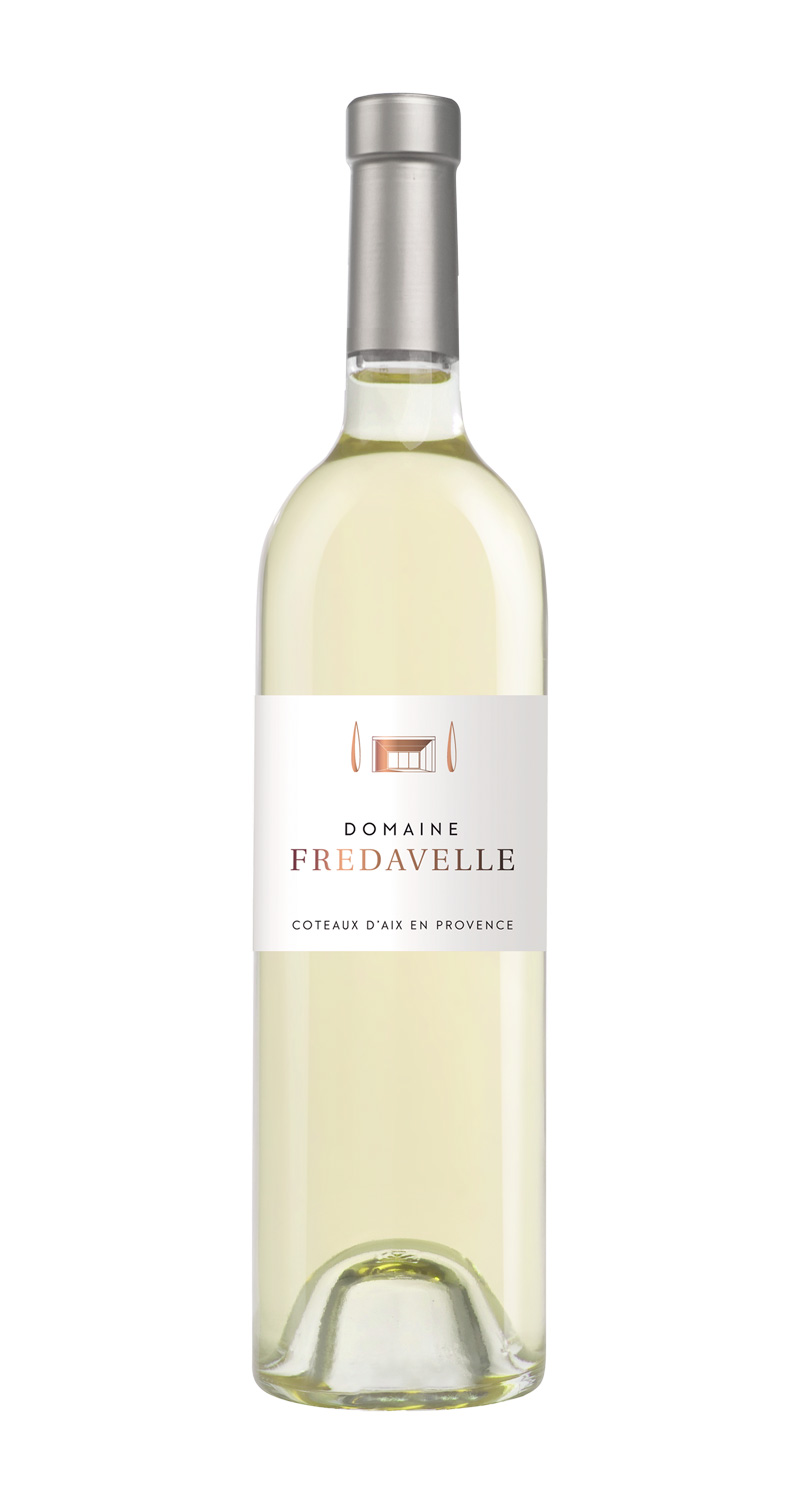 domaine fredavelle cuvée domaine blanc nouvelle étiquette AOP coteaux aix-en-provence vins de provence fiche technique dégustation