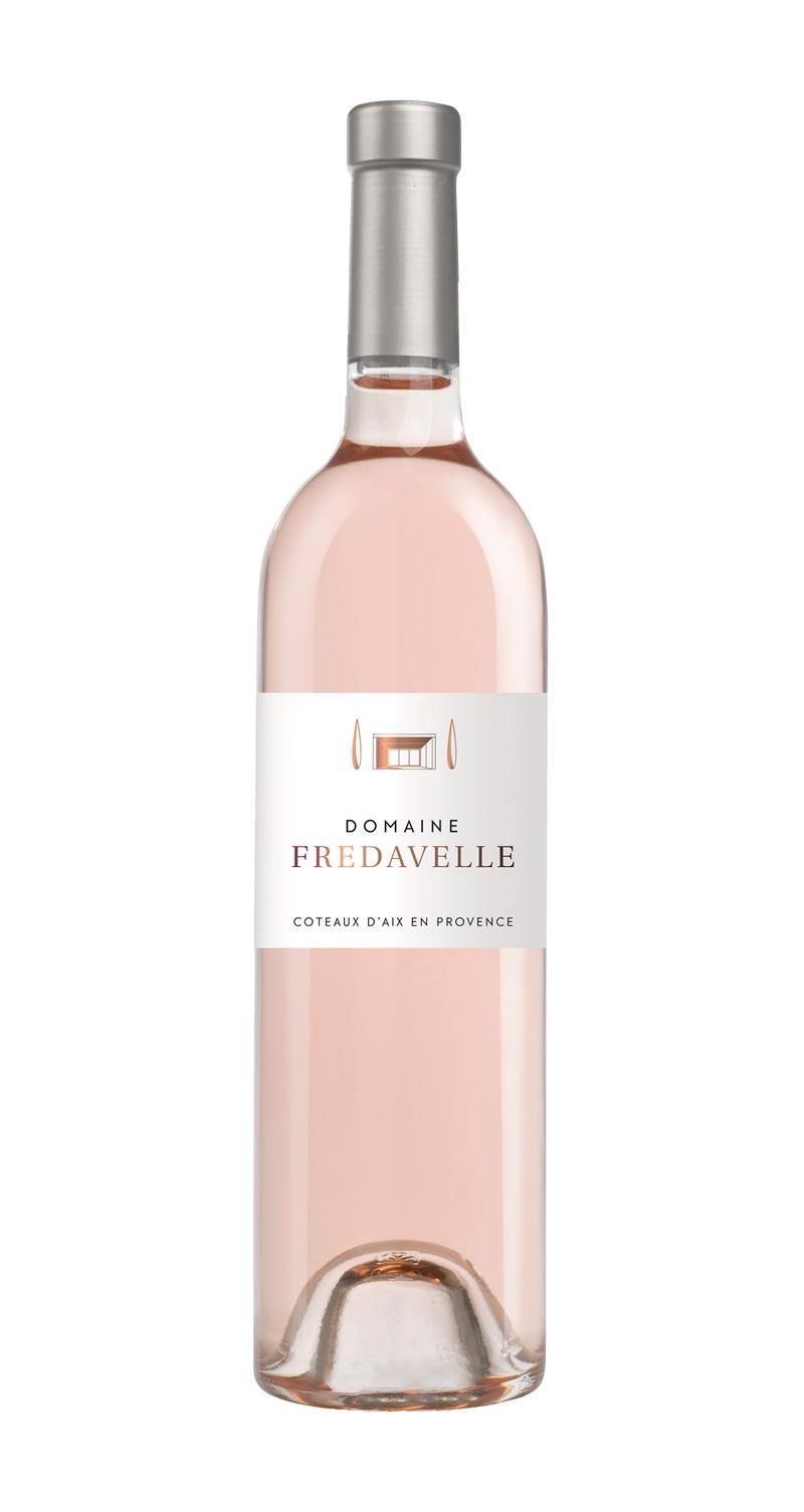 domaine fredavelle cuvée domaine rosé nouvelle étiquette AOP coteaux aix-en-provence vins de provence fiche technique dégustation