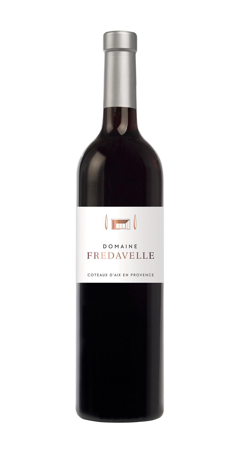 domaine fredavelle cuvée domaine rouge nouvelle étiquette AOP coteaux aix-en-provence vins de provence fiche technique dégustation