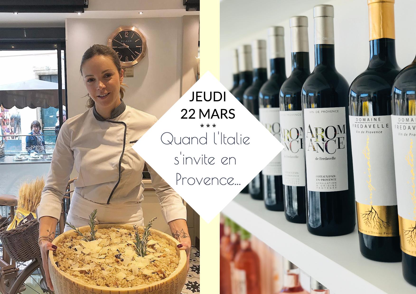 soirée événement Top Chef Marion lefebvre Bottega Da Verri au domaine fredavelle