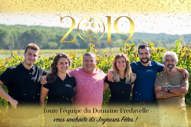 domaine fredavelle vin aix-en-provence nouveau millésime voeux 2019