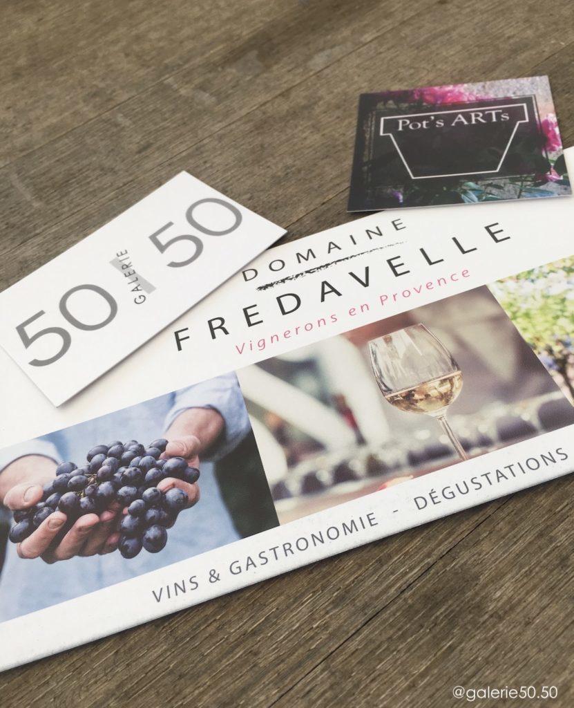 exposition Inspiration galerie 50/50 Fredavelle Pot's arts vernissage