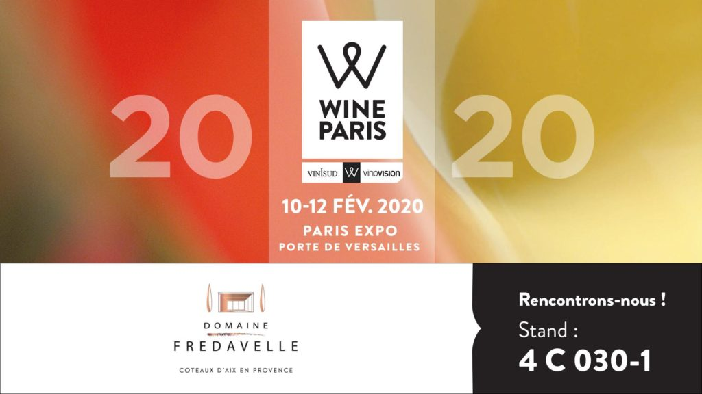 bannière domaine fredavelle wine paris 2020