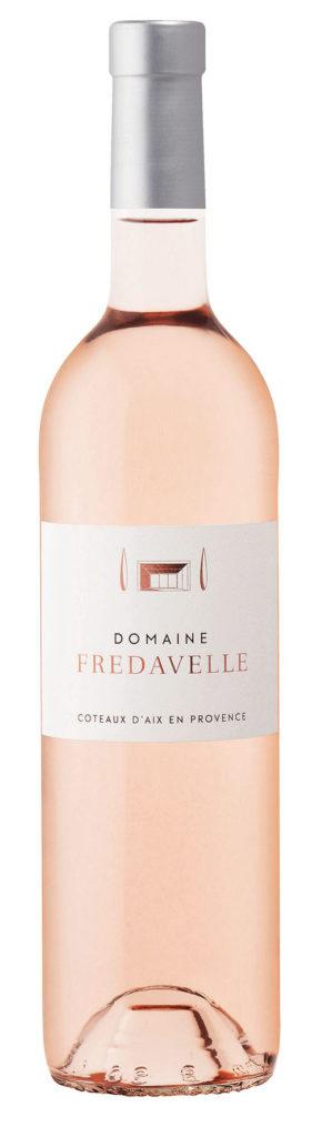 cuvée rose domaine fredavelle aop aix en provence