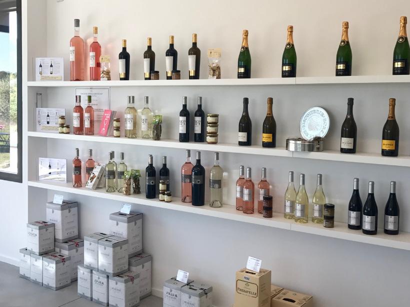 domaine fredavelle vente vin champagne bouteille cubi bib boutique au coeur des vignes visite dégustation route des vins tourisme aix marseille paca