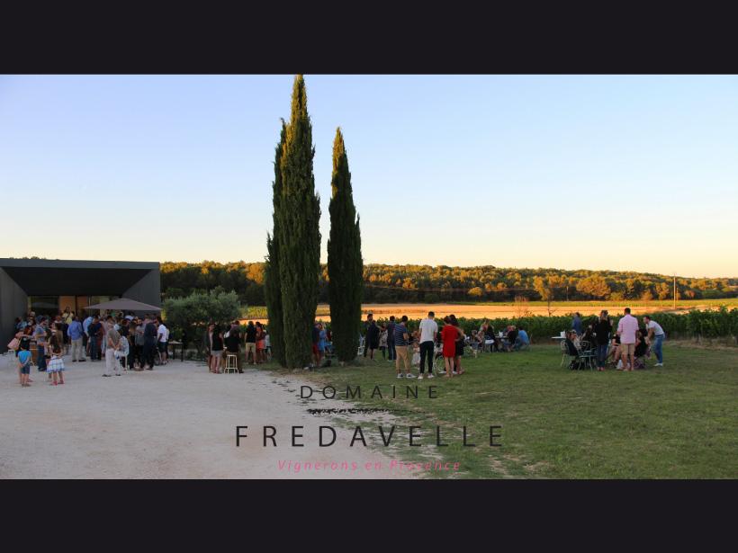 domaine fredavelle organisation événement plein air dans les vignes privatisation lieu vignoble aix-en-provence campagne nocturne visite cave